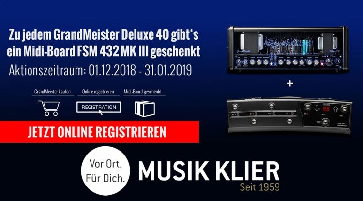 Hughes & Kettner GrandMeister 40 Deluxe AKTION
