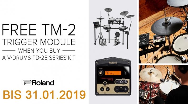 Roland TD-25 + TM2