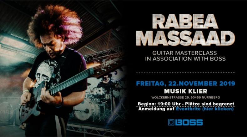Rabea Massaad Masterclass 2019 pres. by Boss