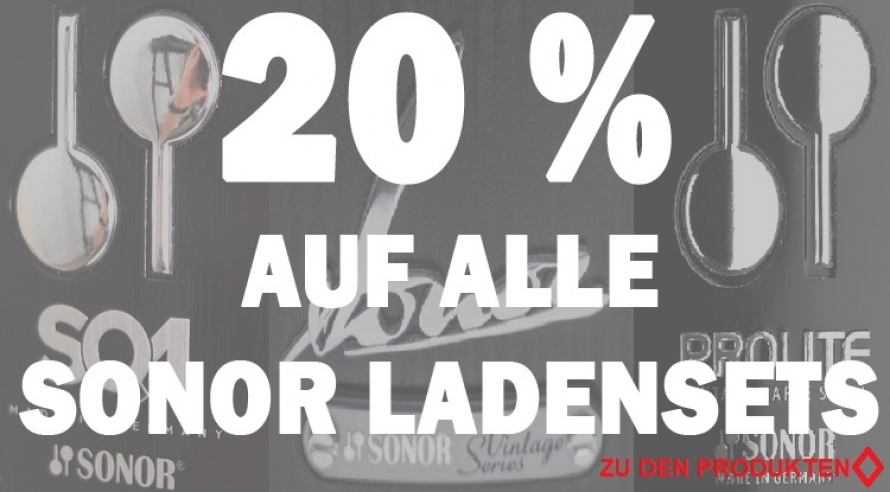 Sonor 20% Aktion