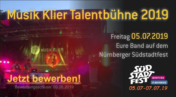 Musik Klier Talentbühne Südstadtfest 2019
