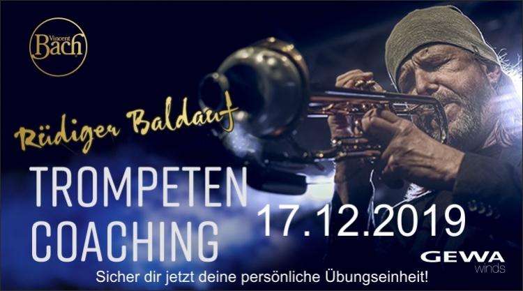 Rüdiger Baldauf Trompeten Coaching 2019