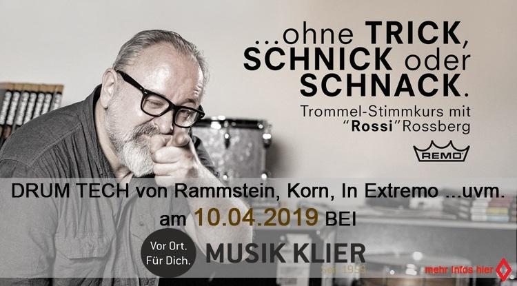 Workshop mit Rossi Rossberg