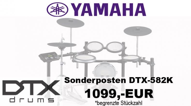Yamaha DTX582k Sonderposten