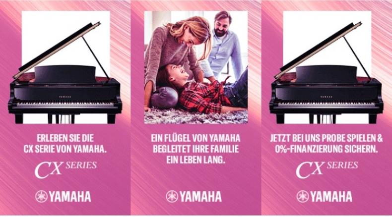 Yamaha CX Serie - 0 Prozent Finanzierung
