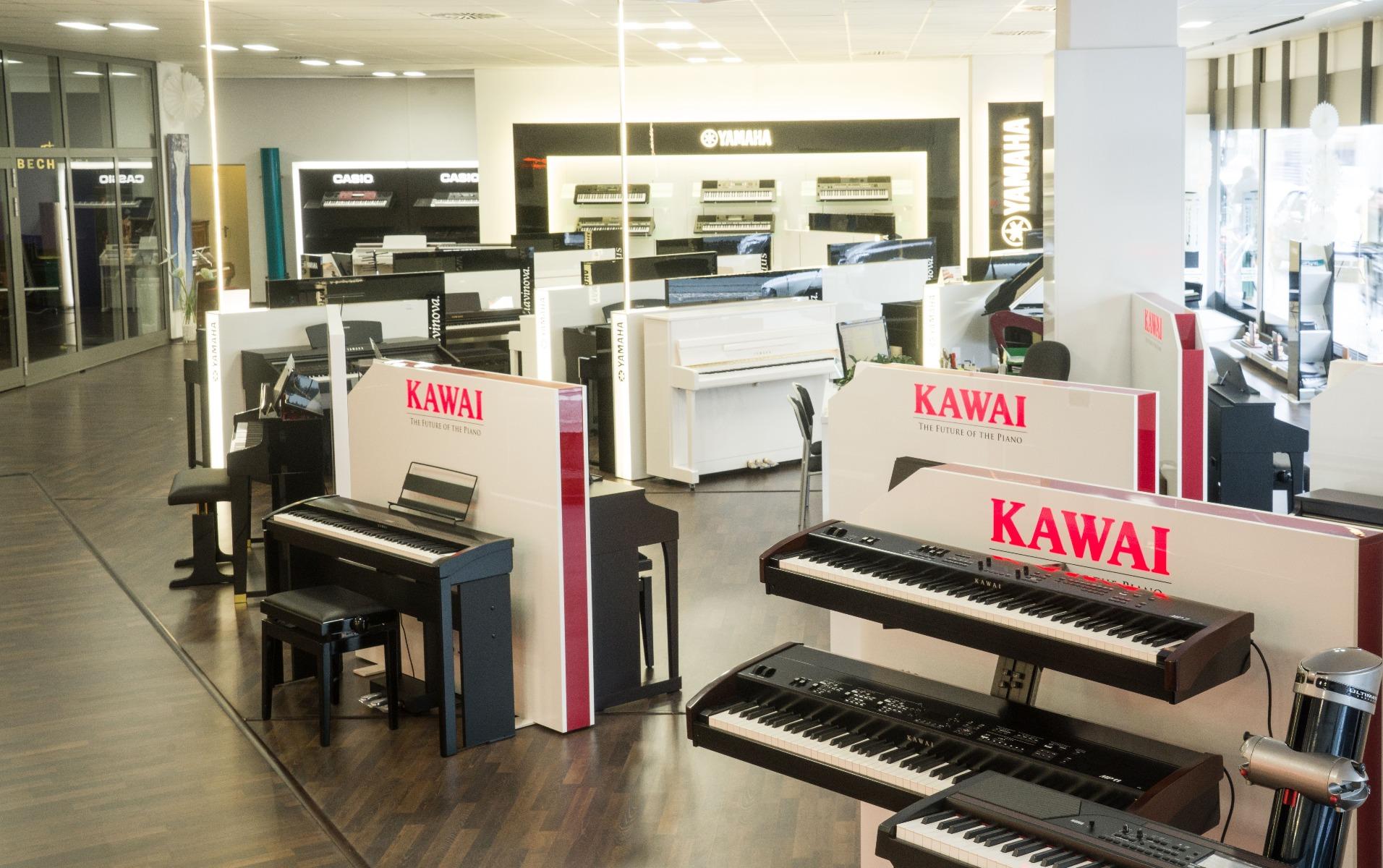 Unsere Klavier Abteilung