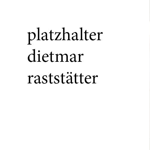 Dietmar Raststätter