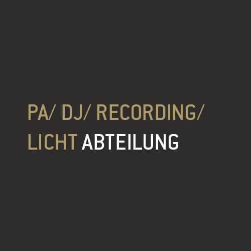 Header Pa/DJ/Recording