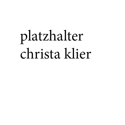 Christa Klier