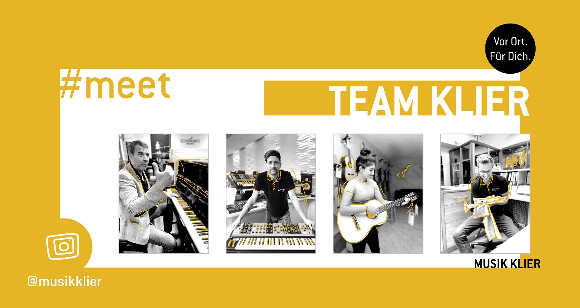 meet Team Klier auf Instagram und Facebook