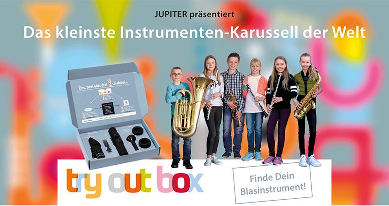 Jupiter Blasinstrument Karussell