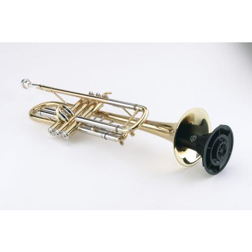K&M 15213 Trompetenständer - schwarz
