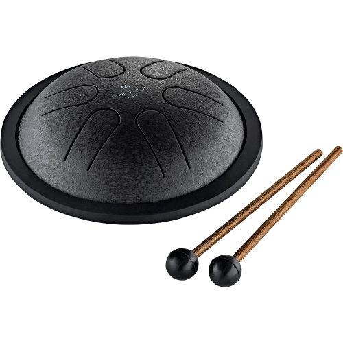 Meinl MSTD1BK Sonic Energy Mini Steel Tongue Drum, Black