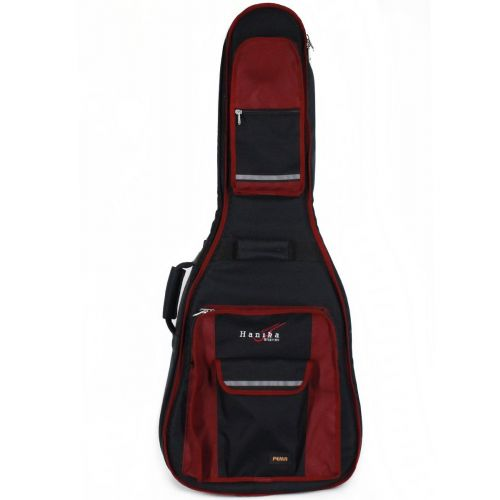 Hanika Pema Tasche Comfort schwarz/rot