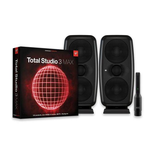 IK Multimedia iLoud MTM (pair) + Total Studio 3 MAX Bundle