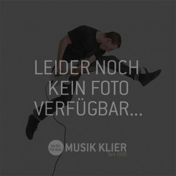K&M 12125 Orchesternotenpult faltbare Kunststoffplatte schwarz
