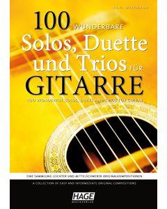 Karl Weikmann  100 wunderbare Solos, Duette & Trios für Gitarre