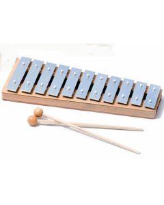 Sonor GP Glockenspiel Sopran, C-Dur Skala c3-fis4, 14 Töne einreihig