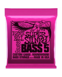 Ernie Ball 2824 Super Slinky 5-String Bass Nickel Wound