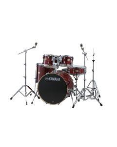 "Yamaha SBP0F5-CR Stage Custom  20/10/12/14"" Cranberry Red mit Hardware"
