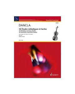 ED21126 Dancla 36 Études mélodiques et faciles op.84