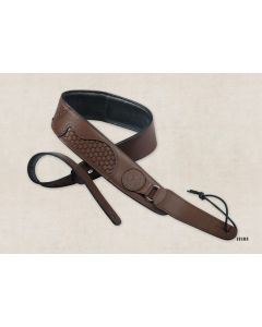 Taylor Basket Weaves Strap Dark Brown