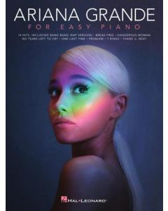 HL293337  Ariana Grande  For easy Piano  14 Hits