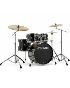"Sonor AQ1 Studio Drumset 20/10/12/14"" inkl. Hardware Piano Black"