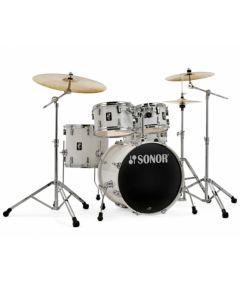 "Sonor AQ1 Studio Drumset 20/10/12/14"" inkl. Hardware Piano White"