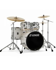 """Sonor AQ1 Stage Drumset 22/10/12/16"""" inkl. Hardware Piano White"""