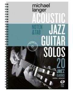 M.Langer  Acoustic Jazz Guitar Solos   20 Jazz Classics