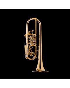 "Schagerl Berlin ""Heavy"" C-Trompete vergoldet"