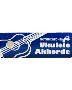 BOE7592  Notenchecker  Ukulele-Akkorde
