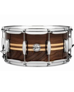 "Gretsch S1-6514W-MI Walnut Snare 14"" x 6,5"" Full Range"