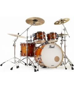 """Pearl MCT924XEP/C  Masters Complete Shellset 22/10/12/16"""" Almond Red Stripe"""