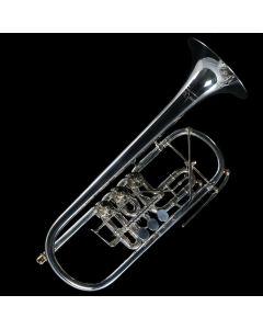 Ricco Kühn Professional T-053/B Goldmessing versilbert 140
