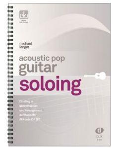 D868 M.Langer   Acoustic Pop guitar soloing