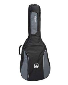 Tonträger TG25D/GB Tasche Westerngitarre 4/4 grey black