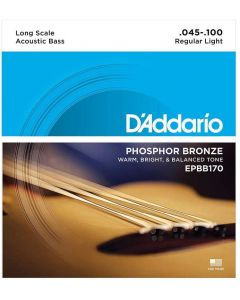 DAddario EPBB170 Phosphor Bronze Acoustic Bass 45-100 Long Scale Satz