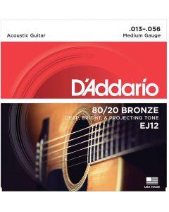 DAddario EJ12 80/20 Bronze Medium 013-056