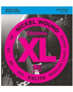 DAddario EFX170 Bass-Saiten 45-100