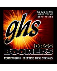 GHS 4M-B-DYB BEAD Tuned Medium 065-130 Bass Boomers
