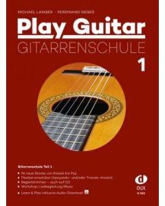 D3501 M.Langer/F.Neges  Play Guitar  Gitarrenschule 1