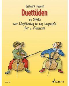 ED8781  G. Mantel  Duettüden 25 Stücke