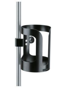 K&M 16022 Universal-Getränkehalter - schwarz
