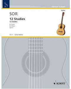 GA77 Fernando Sor  12 Etüden op.6
