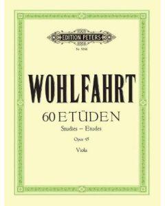 EP9166 Wohlfahrt 60 Etüden Opus 45 Viola