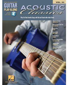 Hal Leonard Guitar Play-Along Vol.33  Acoustic Classics