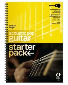 D885  M.Langer    Acoustic Pop Guitar - StarterPack