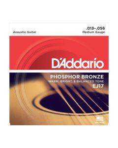 DAddario EJ17 Phosphor Bronze Medium 013-056